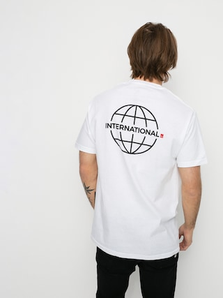 T-shirt eS Grid Globe (white)