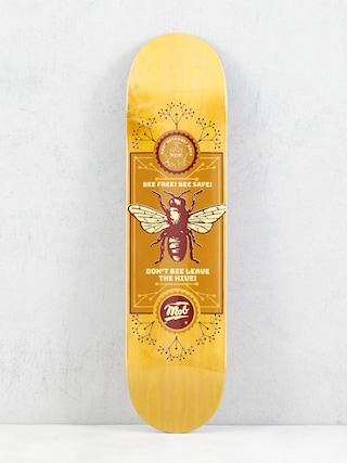 Deck Mob Skateboards Bee (yellow)