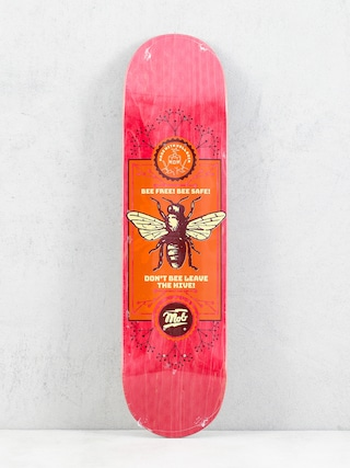 Deck Mob Skateboards Bee (red)