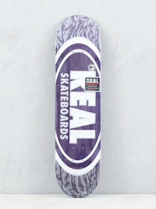 Deck Real Oval Pearl Patterns (purple)