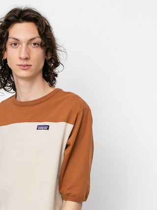 T-shirt Patagonia Cotton In Conversion (pumice)