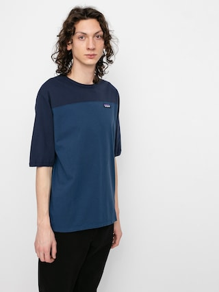 T-shirt Patagonia Cotton In Conversion (stone blue)