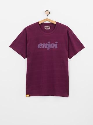 T-shirt Enjoi Flocked Premium (wine)