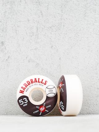 Kółka Mob Skateboards Hardballs (white/black)