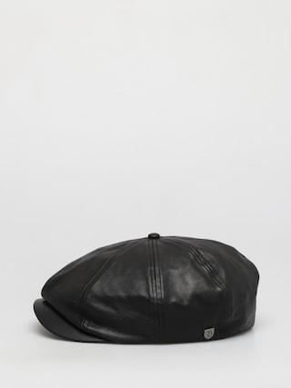 Kaszkiet Brixton Brood Snap ZD (black leather)