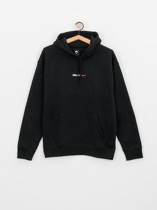 Bluza z kapturem Nike SB Front Script HD (black/white)