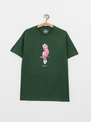 T-shirt Pass Port Glass Galah (forest green)
