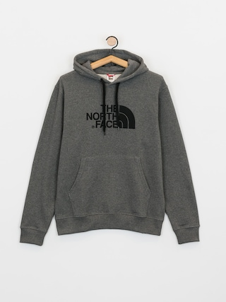 Bluza z kapturem The North Face Light Drew Peak HD (tnf medium grey heather/tnf black)