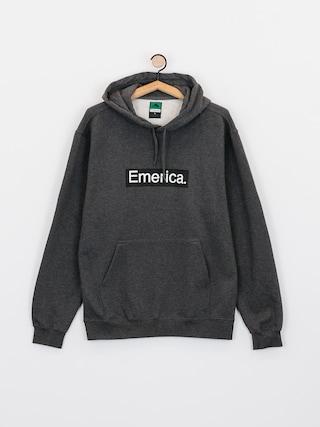 Bluza z kapturem Emerica Pure Bar HD (charcoal/heather)