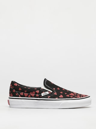 Buty Vans Classic Slip On (valentines hearts black/racing red)
