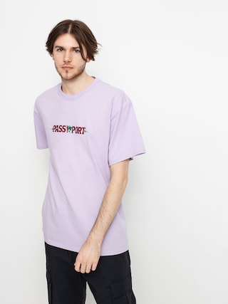T-shirt Pass Port Life of Leisure Embroidery (lavender)