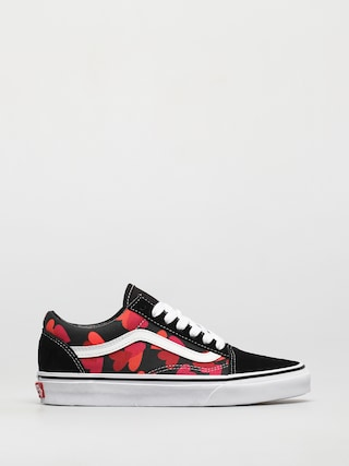 Buty Vans Old Skool (valentines hearts black/fuchsia purple)