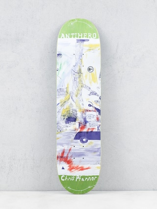 Deck Antihero Pfanner Sf Then And Now (light green)