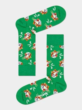 Skarpetki Happy Socks Tiger (green)