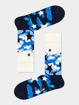Skarpetki Happy Socks Stars (white/black)