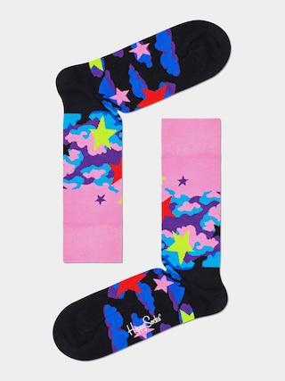 Skarpetki Happy Socks Stars (pink/black)