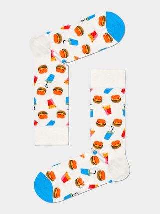 Skarpetki Happy Socks Burger (white)