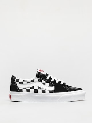 Buty Vans Sk8 Low (canvas/suede black/checkerboard)
