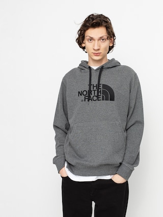 Bluza z kapturem The North Face Light Drew Peak HD (tnf medium grey heather/tnf black)