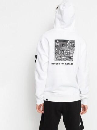 Bluza z kapturem The North Face Black Box HD (tnf white)