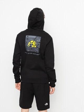 Bluza z kapturem The North Face Black Box HD (tnf black)