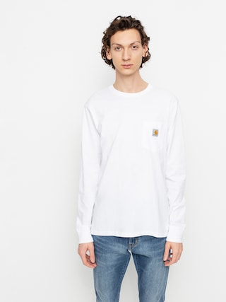 Longsleeve Carhartt WIP Pocket (white)