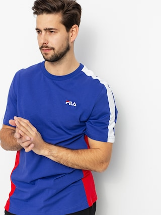 T-shirt Fila Altan (clematis/true red/bright white)