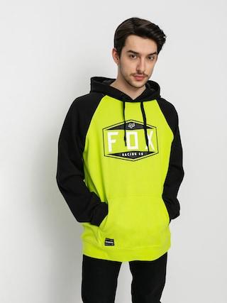 Bluza z kapturem Fox Emblem Raglan HD (flo ylw)