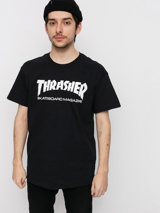 T-shirt Thrasher Skate Mag (black)