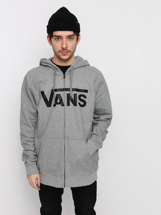 Bluza z kapturem Vans Classic ZHD (cement heather/black)