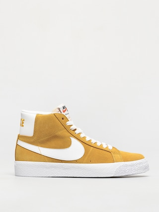 Buty Nike SB Zoom Blazer Mid (university gold/white university gold)