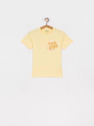 T-shirt Volcom M. Loeffler Fa (dawn yellow)