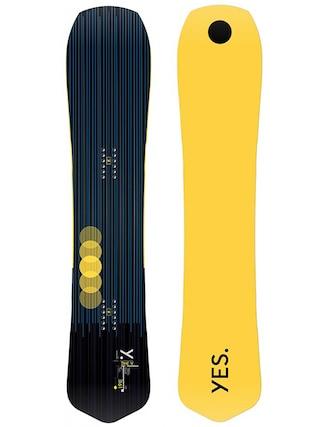 Deska snowboardowa Yes The Y (yellow/black)