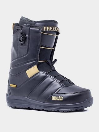 Buty snowboardowe Northwave Freedom Sl (black rubber)