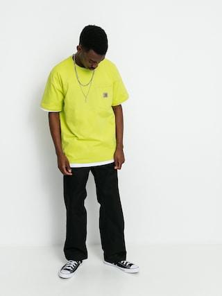 T-shirt Carhartt WIP Pocket (limeade)