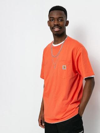 T-shirt Carhartt WIP Pocket (shrimp)