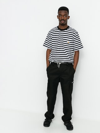 T-shirt Carhartt WIP Scotty Pocket (scotty stripe black/white)