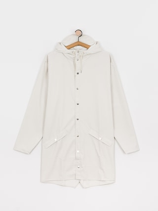 Kurtka Rains Long Jacket (off white)