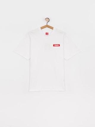 T-shirt Prosto Jackart (white)