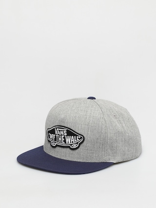 Czapka z daszkiem Vans Classic Patch (heather grey/dress blues)