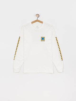 Longsleeve Brixton Beta Checkers Stt (white)