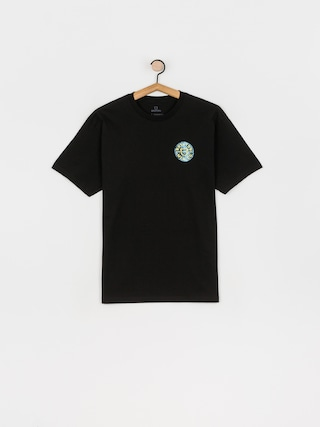 T-shirt Brixton Crest II Stt (black/yellow)