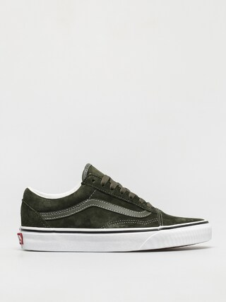 Buty Vans Old Skool (pig suede olive/true white)