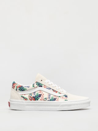 Buty Vans Old Skool (spring daze jungle/marshmallow)