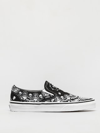 Buty Vans Classic Slip On (bandana black/true white)