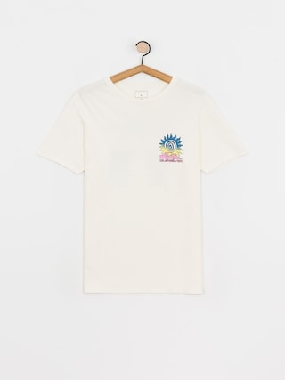 T-shirt Quiksilver Island Pulse (snow white)