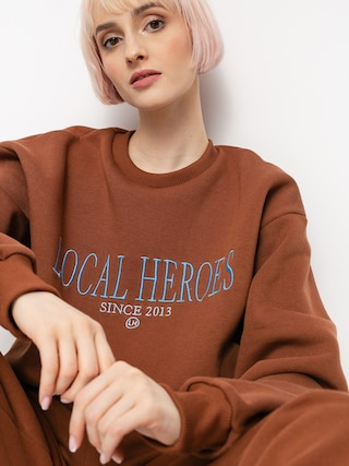 Bluza Local Heroes Lh 2013 Wmn (chocolate brown)