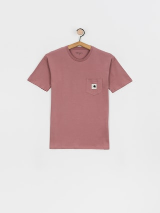T-shirt Carhartt WIP Pocket Wmn (malaga)