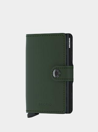Portfel Secrid Miniwallet (matte green/black)