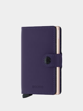 Portfel Secrid Miniwallet (matte purple/rose)